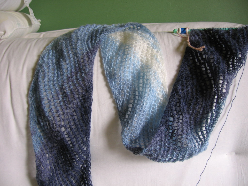 A Tale of 3 Scarves (unfinished) « The Adventures of